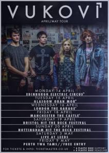 Vukovi ~Tour Dates
