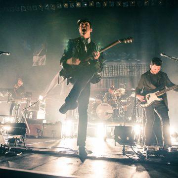 Jamie T @ Alexandra Palace, London. [Credit: Gigwise.com]