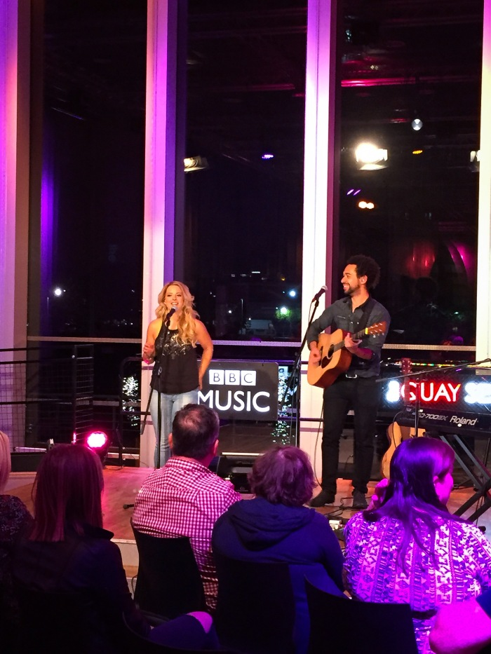 The Shires live for the BBC Quay Sessions.