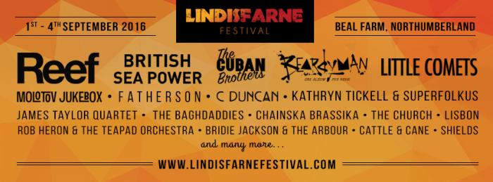 lindisfarne-fest banner